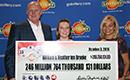 Małżeństwo z Atlanty odbiera kumulację Powerball wartą $247.000.000