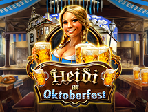 Heidi at the Oktoberfest