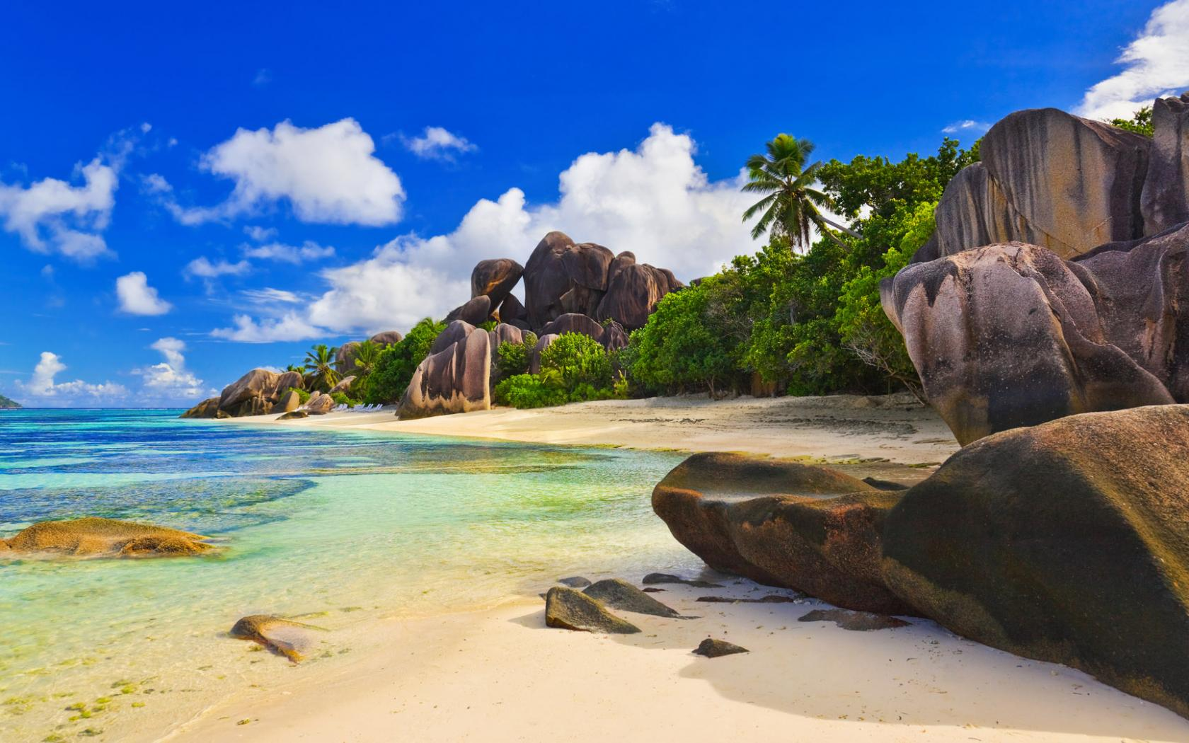 Luxury seychelles beach lotto