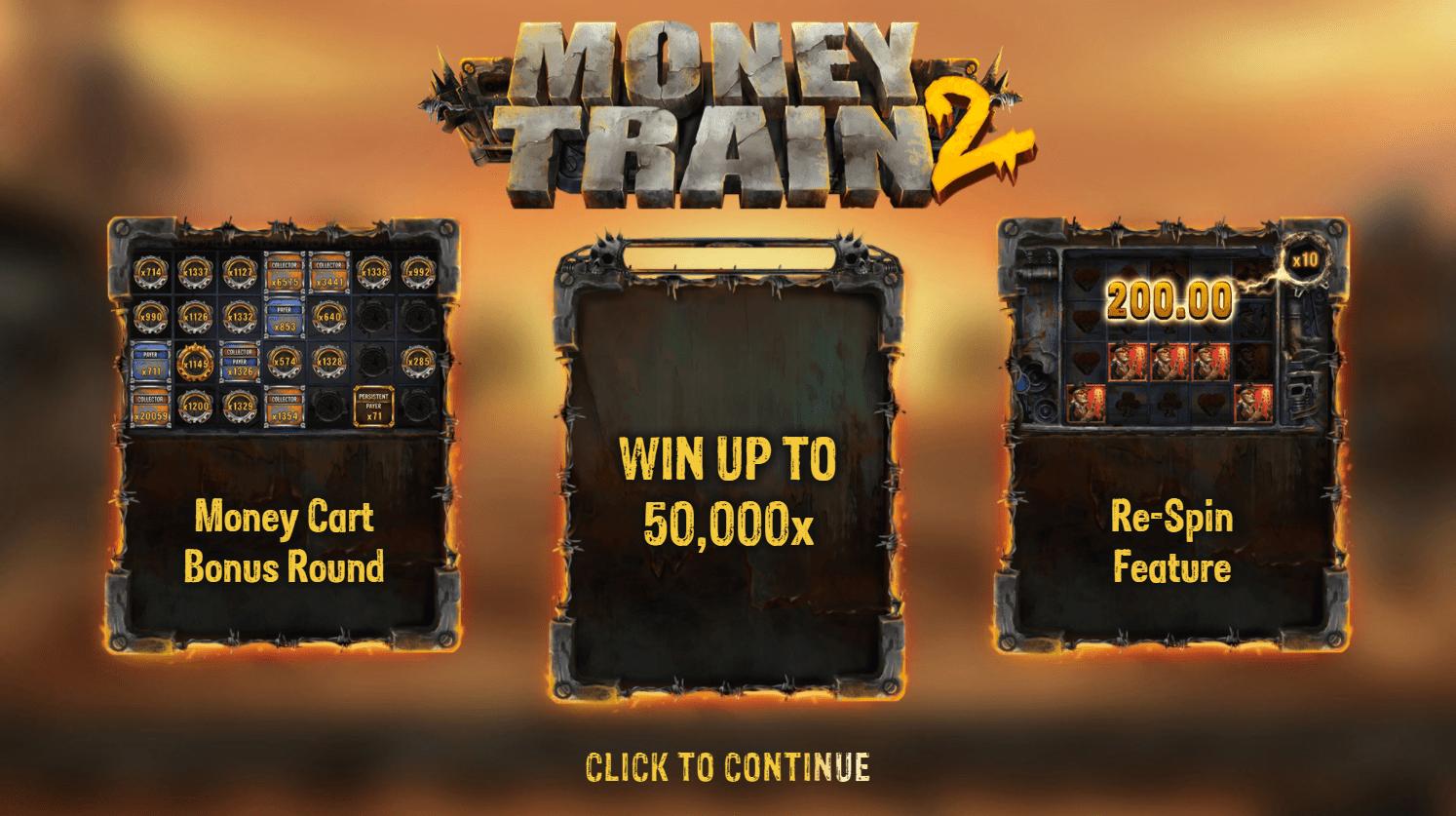 Moneytrain feature
