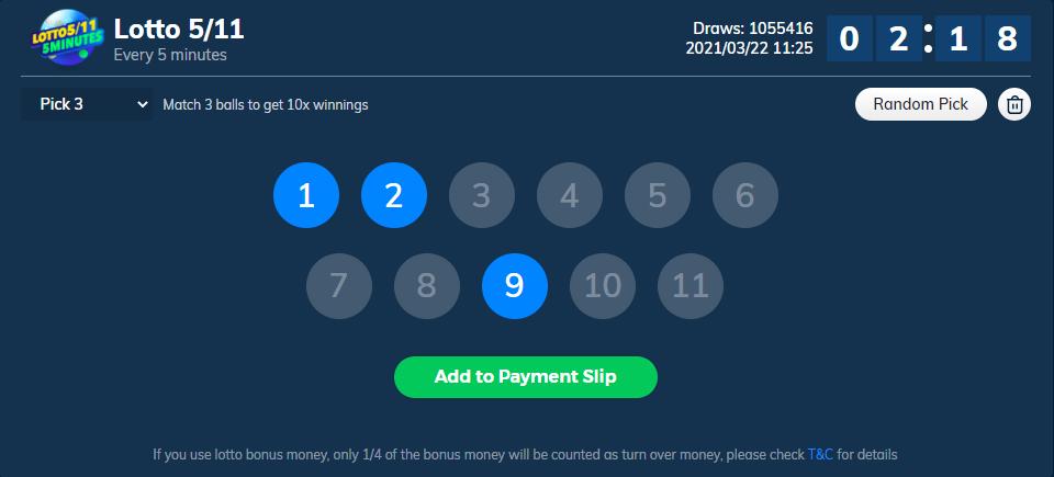 Quick Lotto